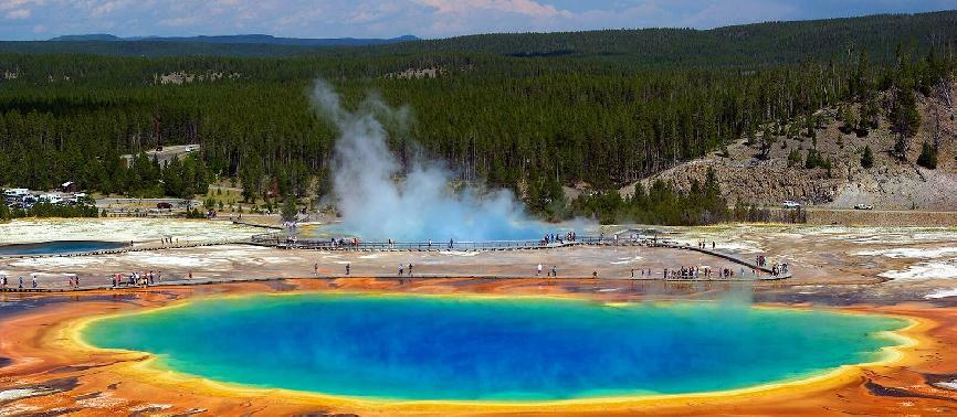 Circuit Yellowstone, Mont Rushmore et les Rocheuses
