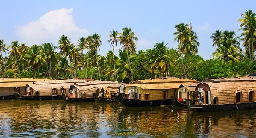 Visiter Allepey et backwaters