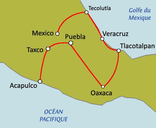 Circuit Sur Mesure De Veracruz  U00e0 Acapulco