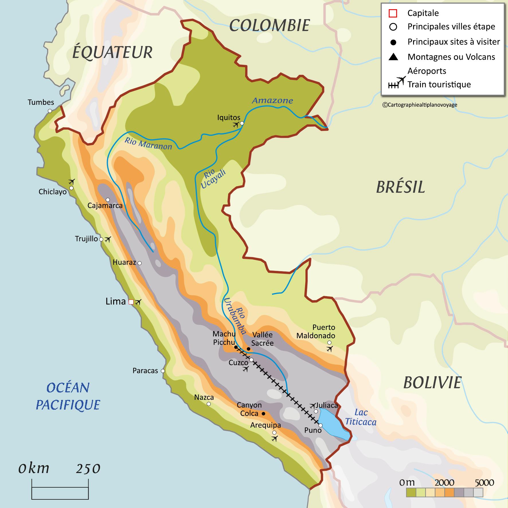 Climat & Géographie du Pérou