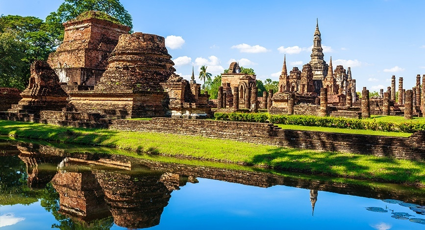 Visiter le parc historique de sukhothai for Parc a visiter